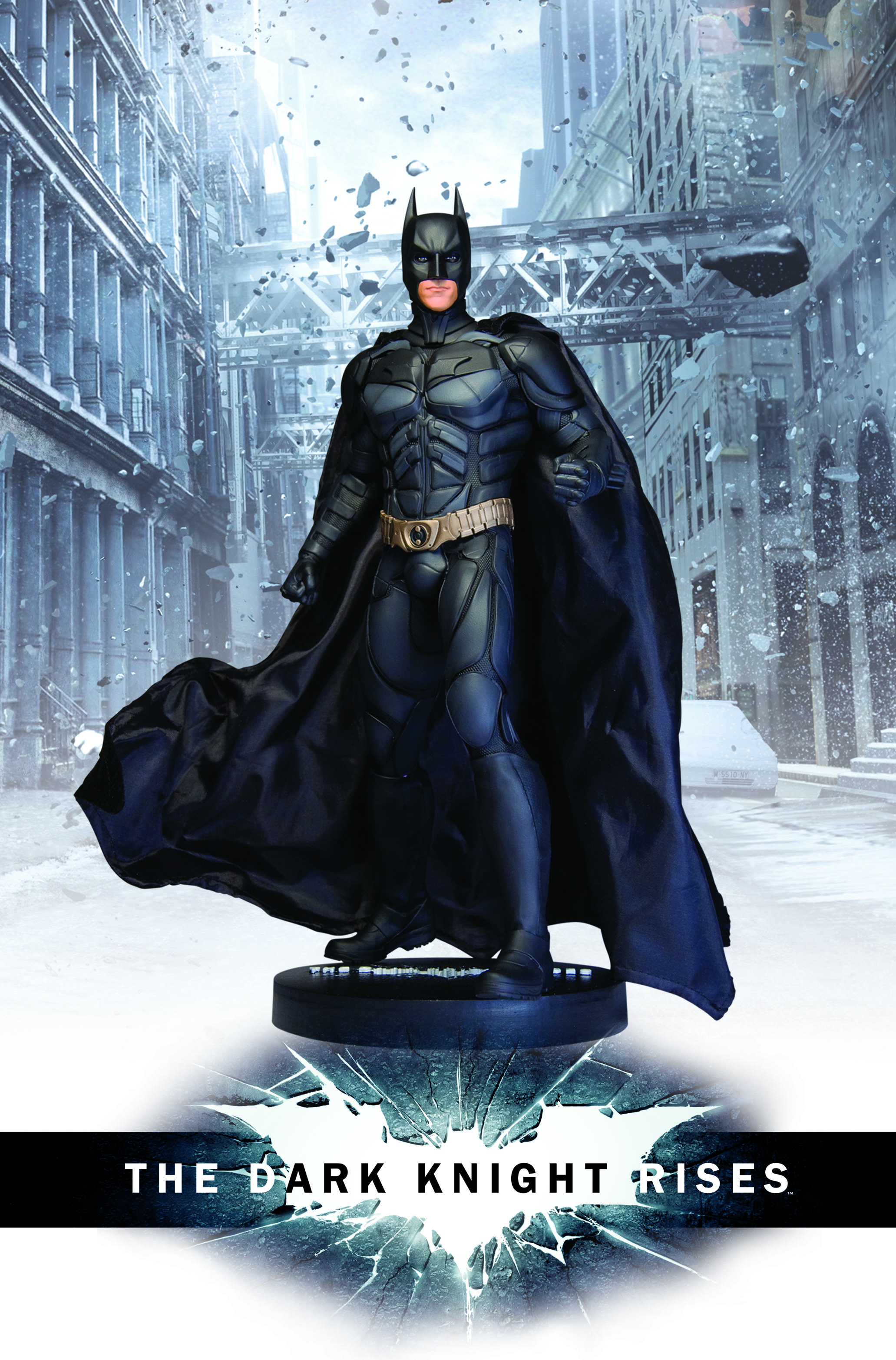 DC Direct The Dark Knight Rises Batman Statue